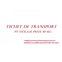 Tichet de transport la...
