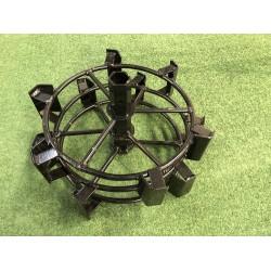 Large metallic wheel set...